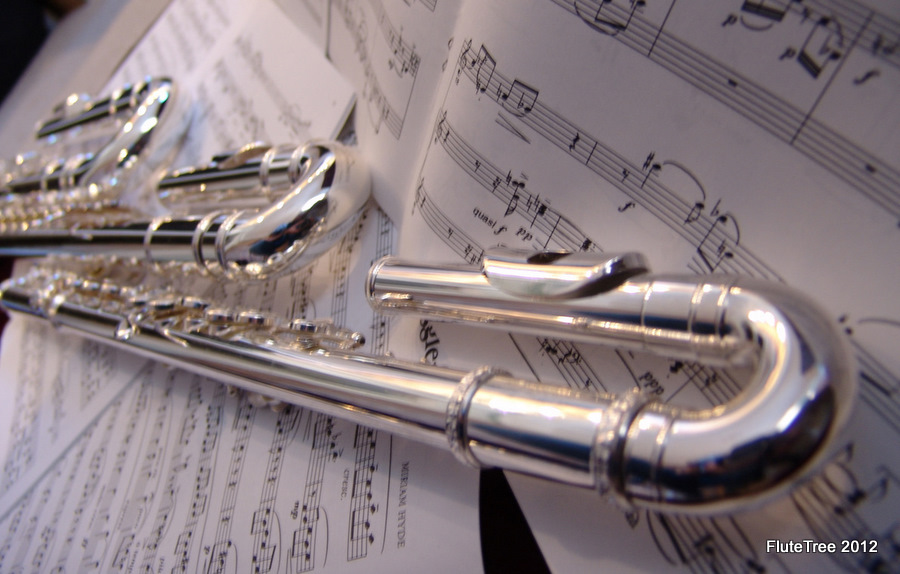 image flutes and music